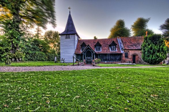 Greensted Church – Essex, England - Atlas Obscura