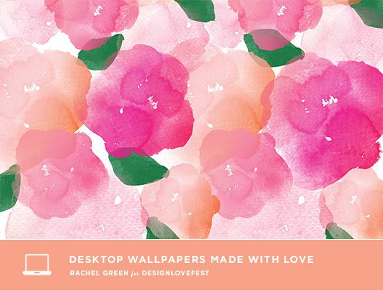 Design Love Fest: DRESS YOUR TECH free wallpaper downloads by Printed Ink Designs
