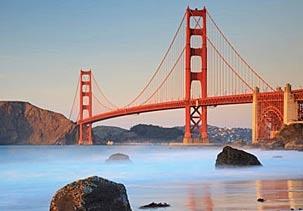 Image: Golden Gate Bridge in San Francisco (© JLImages/Alamy)