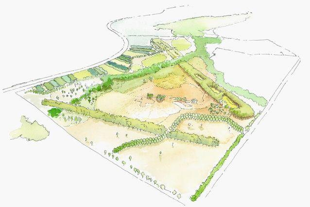 Concept plan of Bungarribee parklands. JMD design
