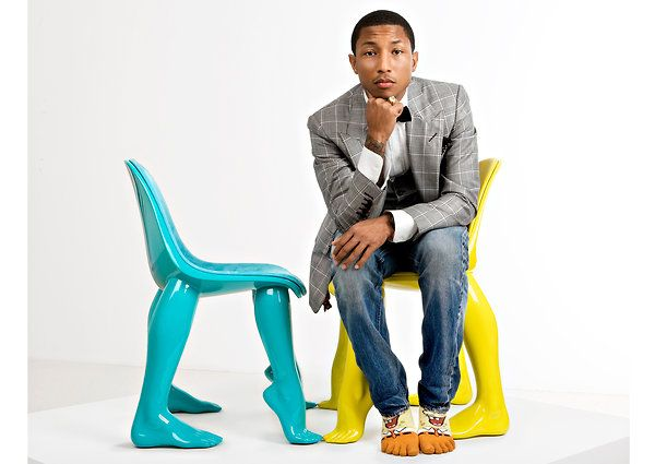 "/ ""I am overly ambitious, because I realize it can be done"" / Pharrell WilliamsMusic, Williams Xd, Modern Chairs, Men Style, Style Icons, Men Fashion, Perspective, Design, Pharrell Williams"