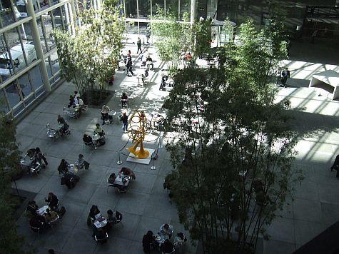 Indoor Public Atriums in New York