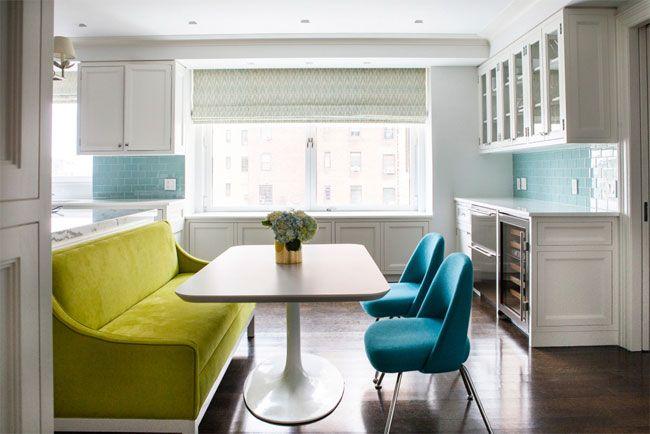 Sof verde en la cocina cocinas pinterest verde - Sofa para cocina ...