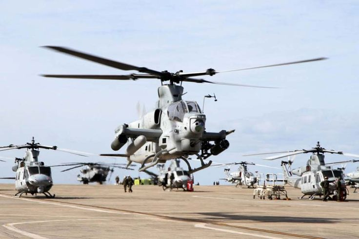 Viper Attack Helicopters Give Marines New Weapon for Pacific ...