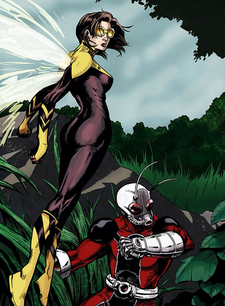 Image result for hank pym wasp