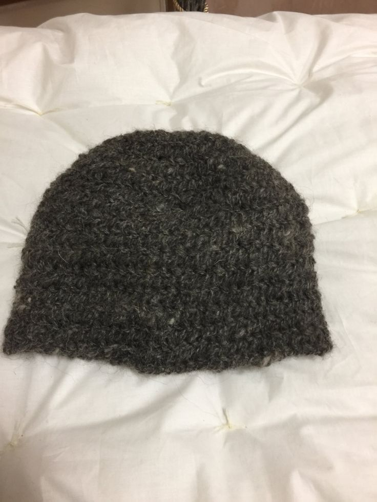 Viking, Norse, Anglo Saxon, Nalbinding hat, Hand spun wool and wolf under coat, oslo stitch. by Micheleshats on Etsy