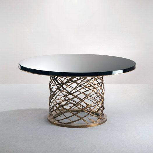 dining table by herv van der straeten see similar by. Black Bedroom Furniture Sets. Home Design Ideas