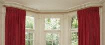 The 25 Best Bay Window Pole Ideas On Pinterest Curtains