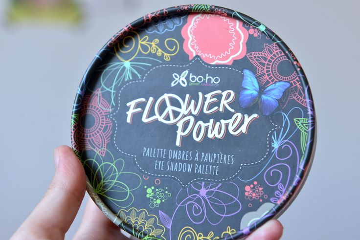 palette flower power boho cosmetics