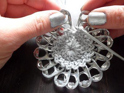 Pop Tab Choker - Free Crochet Pattern: