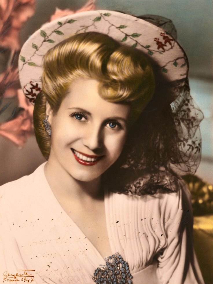 Evita | Eva Peron -First Lady of Argentina from 1946 to 1952 died at age 33