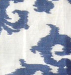 linen pattern - casablanca blue, la tavola