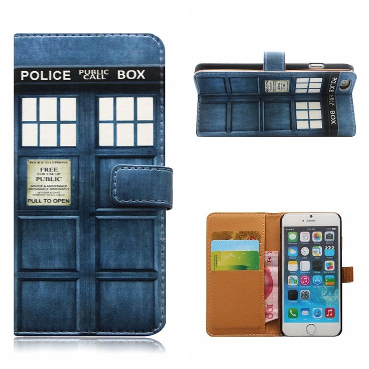 5.28$  Buy here - For iphone 7 7PLUS PU Leather Doctor Who Tardis PHONE Case Card Slot Police Box Filp Wallet phone cover For iPhone 7 7PLUS   #bestbuy