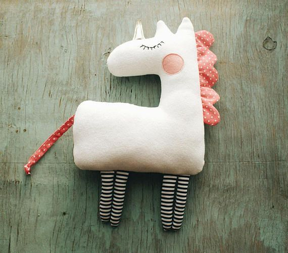 PDF Unicorn Pattern Unicorn Gift Simple Unicorn Sewing Unicorn Birthday …   – Stoff Handwerk einfach