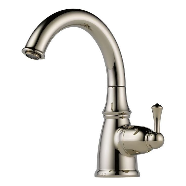 Brizo 61310LF Traditional Beverage Faucet that Works with RO Systems Filtered W Brilliance Polished Nickel Faucet Water Dispenser Cold Only