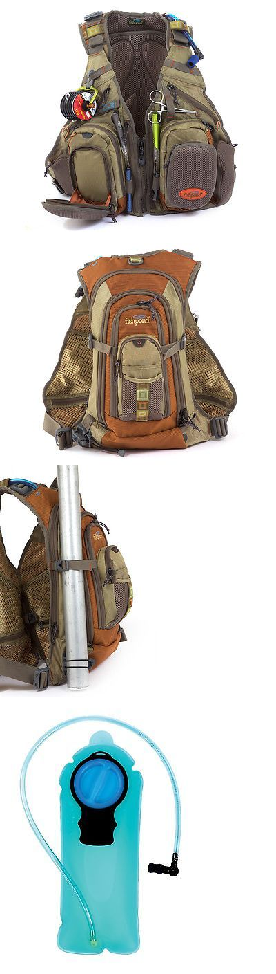 Vests 65982: New Fishpond Wasatch Fly Fishing Vest Backpack Driftwood Free Waterlog Bladder BUY IT NOW ONLY: $189.95