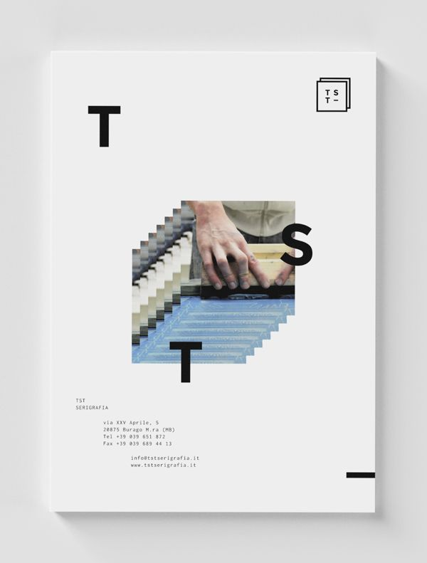 TST identity by Giorgio Stefanoni, via Behance