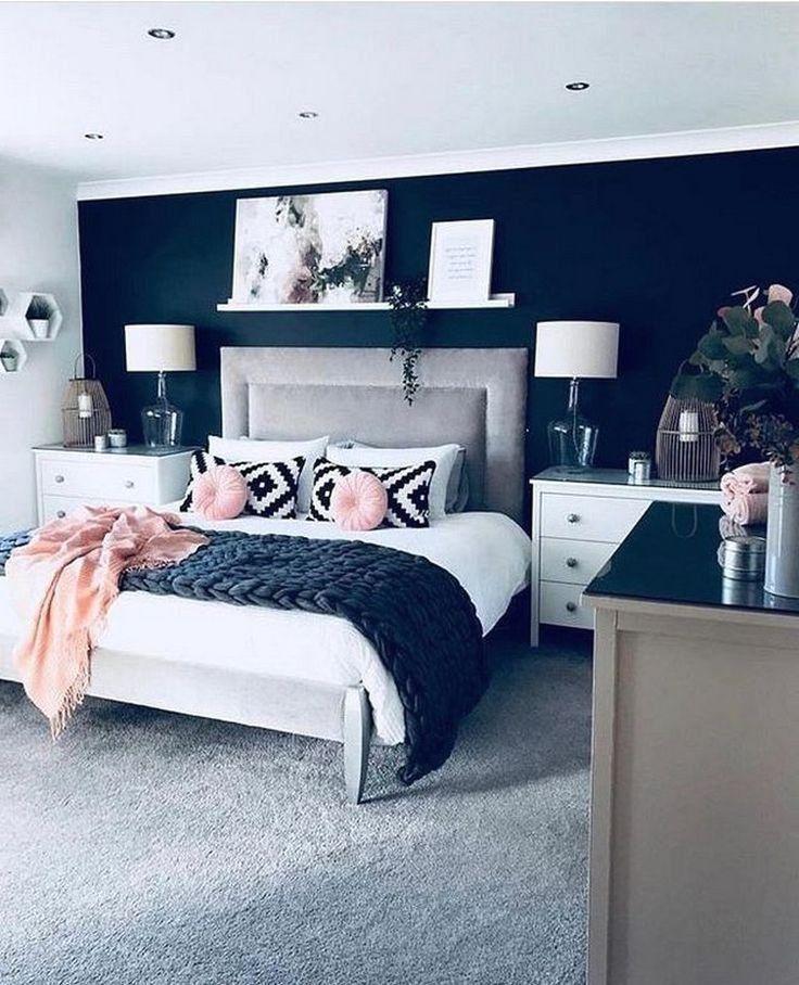 30 Elegant And Easy Diy Wall Decor Ideas For Bedroom Bedroom Decor Diy Easy Modern D Fancy Bedroom Master Bedrooms Decor Master Bedroom Color Schemes