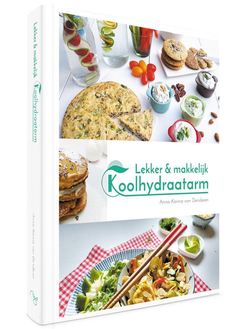 Stichting Gewoon Goed Eten wil mensen motiveren en stimuleren om gezonder te eten. Dus geven ze mijn yummie kookboek uit: Lekker & makkelijk Koolhydraatarm.