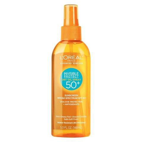 L'Oreal® Paris Advanced Suncare Invisible Protect Dry Oil Spray SPF 50+ - 5 fl  oz