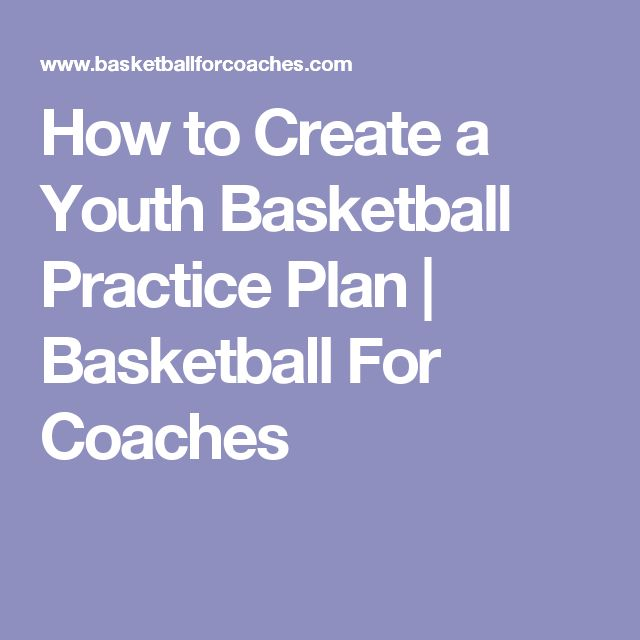 How to Create a Youth Basketball Practice Plan | Basketball For Coaches