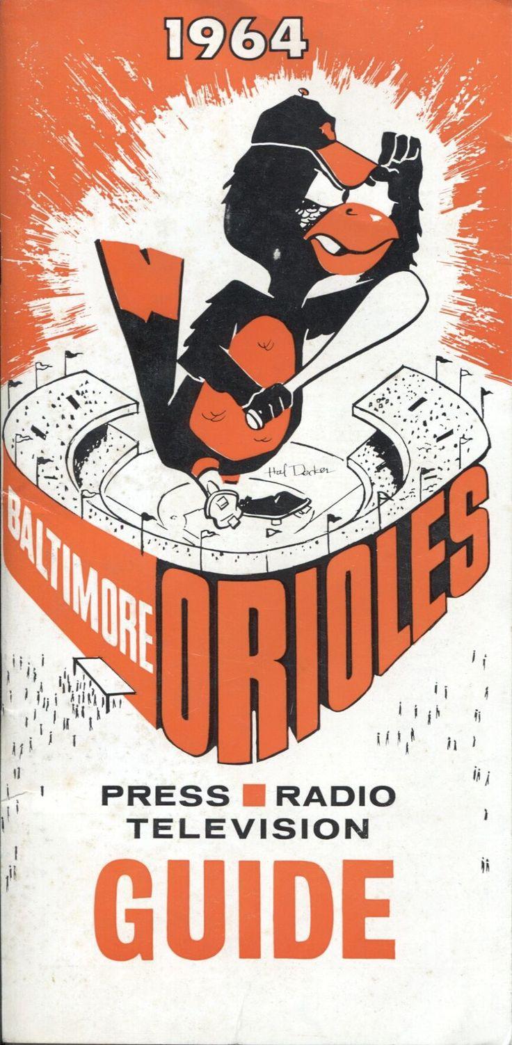 Baltimore Orioles 1964 press guide