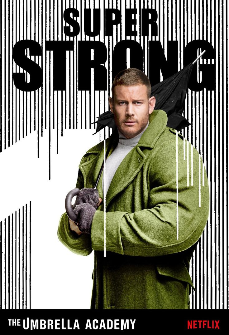 Luther Hargreeves | Number One | Spaceboy (Tom Hopper in The Umbrella Academy, S…