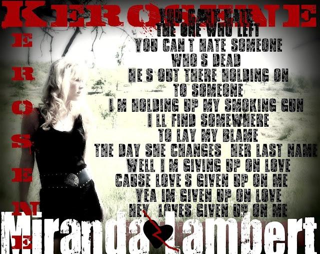 Country Music Quotes #Miranda Lambert