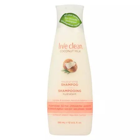 Live Clean Moisturizing Shampoo Coconut Milk