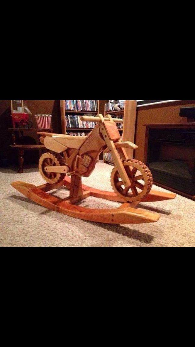 Plans for motorcycle rocking horse woodworking projects for Woodworking plan for motorcycle rocker toy