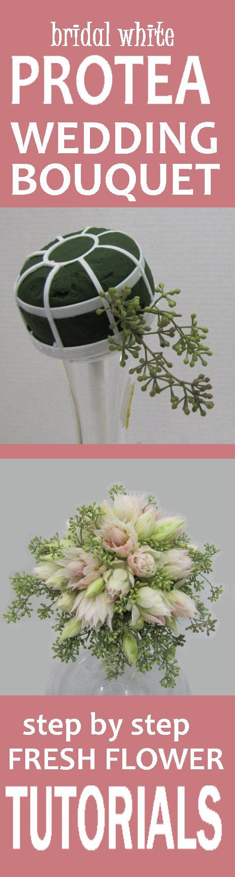 129 best how to make a wedding bouquet images on pinterest bridal wedding bridal bouquets easy free fresh flower tutorials learn how to make bridal bouquets izmirmasajfo Choice Image