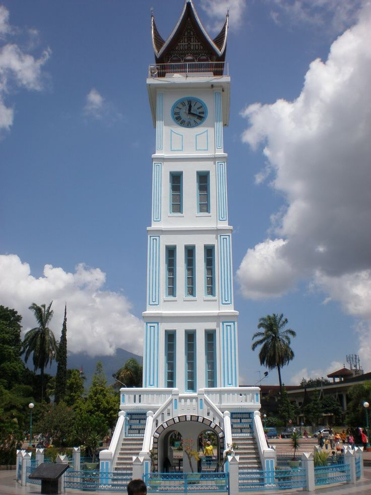 Jam Gadang, Bukit Tinggi, West Sumatra, #Indonesia #clocktower