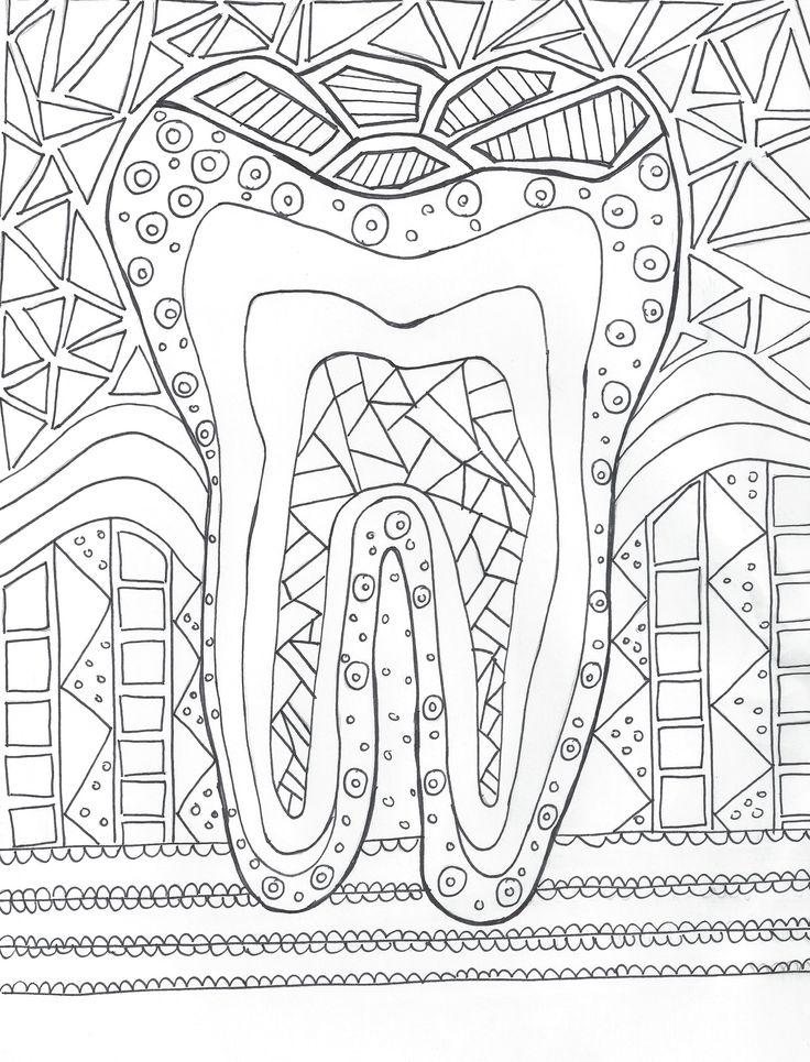 Dental Hygiene Coloring — Hygiene Edge