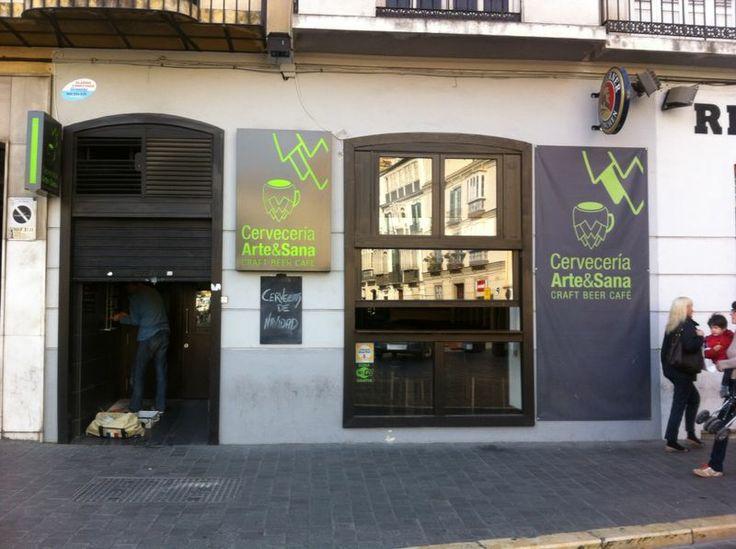 Cervecería Arte&Sana | Plaza de la Merced, 5