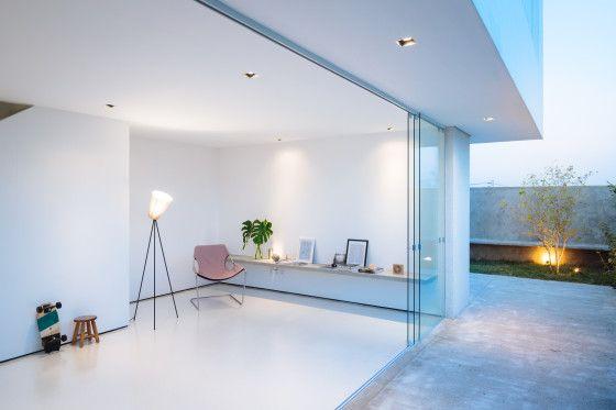 Diseño de barra de estudio de casa minimalista