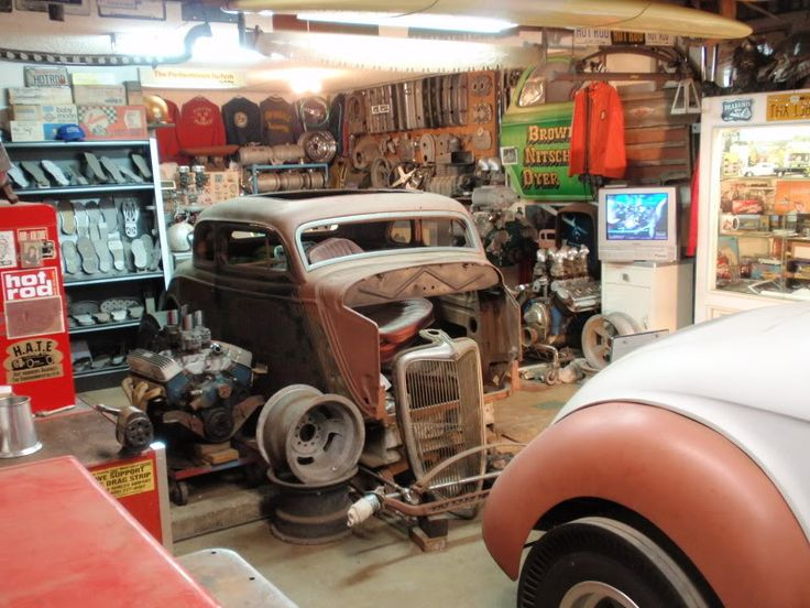 Hot Rod Garage : Best images about workshop hot rod garage on