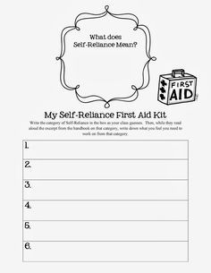 """""""come Follow Me"""" November: Self- Reliance - download LDS printables, object lessons, activity ideas, and teaching tips at Mormon Share."""