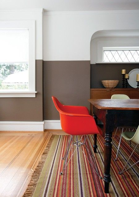 1000 Ideas About Two Toned Walls On Pinterest Chair