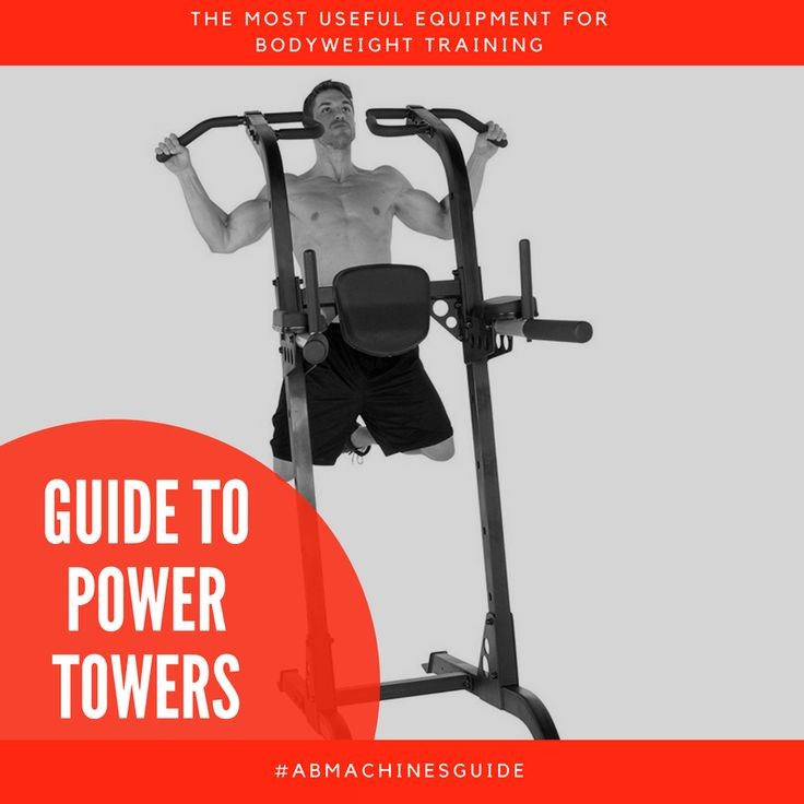 Do you want to buy a power tower to train at home? Check the reviews and comparison of the best workout stations, and the buyer's guide.