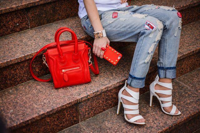 #details #shoes #case #jeans #bag