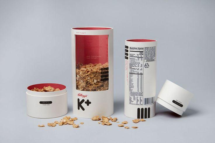 Kellogg's Cereal on Packaging Design Served