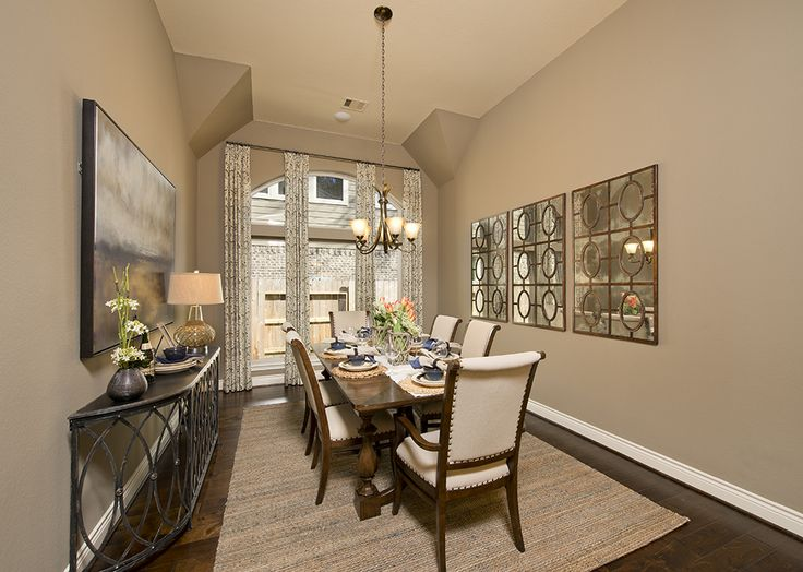 Exceptional Tavola Model Home Design   3,322 Sq. Ft.   Dining Room