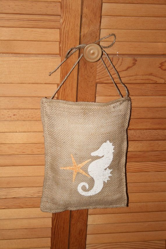 211 best images about embroidery on pinterest for Burlap sack decor