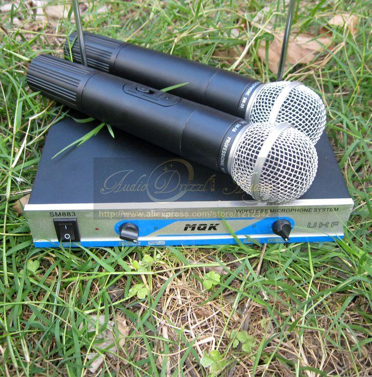 microfone profissional dinâmico microfone sem fio