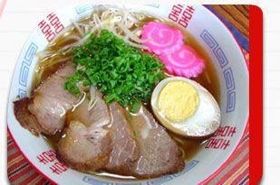豚骨醤油・ラーメン(広島風)