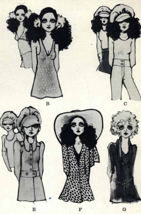 Biba illustrations