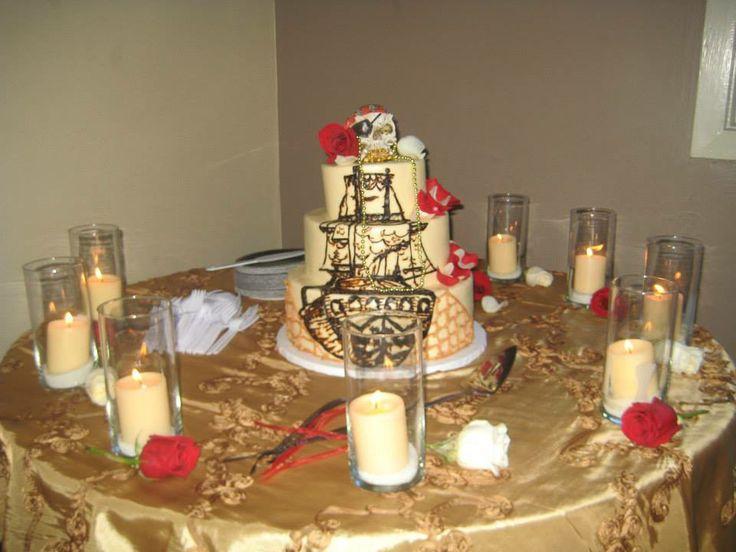 Wedding Cake Pirate