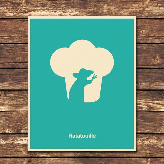 I love these Pixar modern movie posters, so simple but so cute! I want them all.