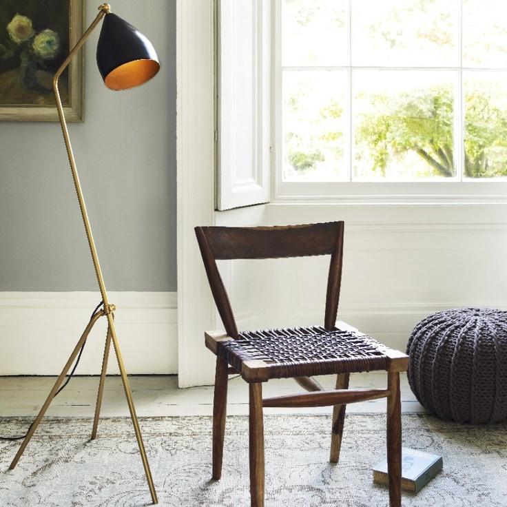 Sterling Slanted Floor Lamp - Floor Lamps - Graham and Green
