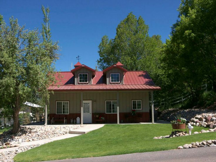 Pin by richard williams on morton portable buildings for Morton building cabin